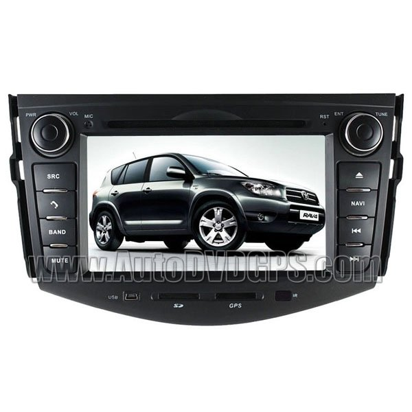 Aftermarket DVD GPS Navi Headunit Update + Bluetooth Phonebook For Toyota RAV4