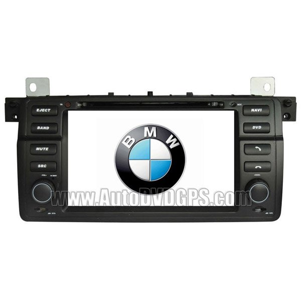 """BMW E46 / 3 series DVD-based Navigation System with 7"""" HD touchcreen and iPod Bluetooth"""