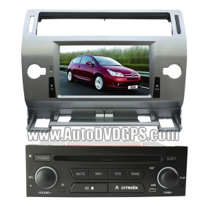 """Citroen C5 DVD Player with GPS navigation and 7"""" HD touchscreen and Bluetooth"""