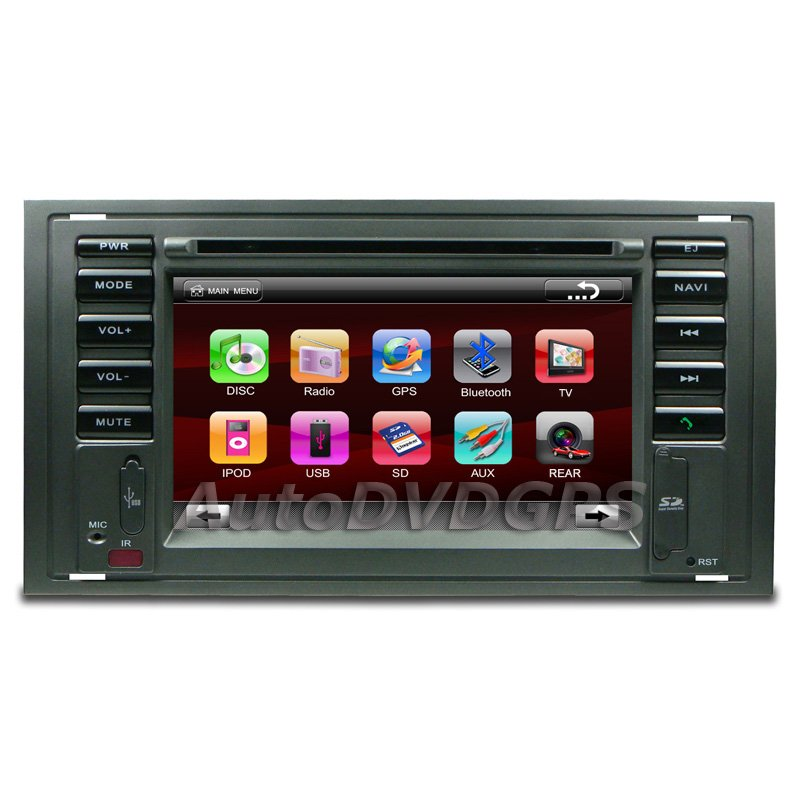 "2 Din OEM Radio for Ford C-MAX GALAXY w/ GPS navigation 6.2"" Digital touchscreen"