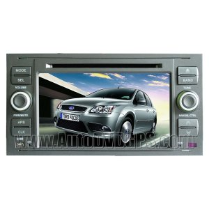 """7"""" Digital HD Touchscreen DVD GPS player with SWC iPod BT Control for FORD FOCUS FIESTA"""