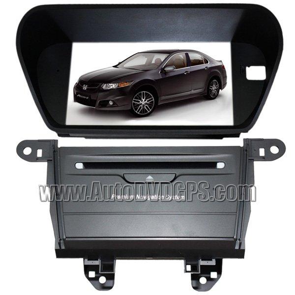 Updated DVD GPS AutoRadio For Honda Accord Euro & 09 Acura TSX + BT handsfree Notebook
