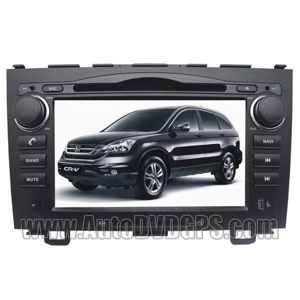 Custron T1070CRV Aftermarket DVD GPS Navi Headunit Update + Bluetooth Phonebook For Honda CRV