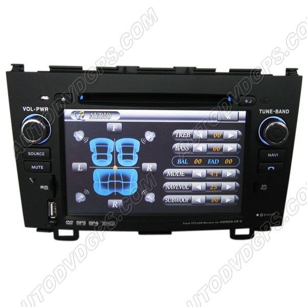 "DVD GPS Navigation player / 7"" Digital Touchscreen / Bluetooth RDS For 2007-2010 Honda CRV"