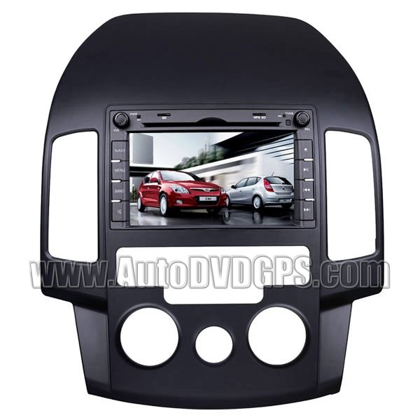 "7"" Digital Touchscreen/ DVD Playback/ USB SD RDS Navigation system For Hyundai I30"