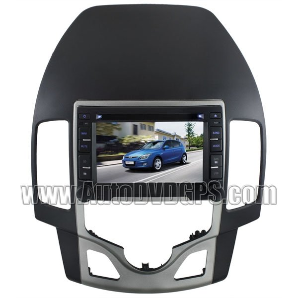 """Hyundai i30 DVD Player with GPS navigation and 7"""" HD touchscreen and iPod Bluetooth"""