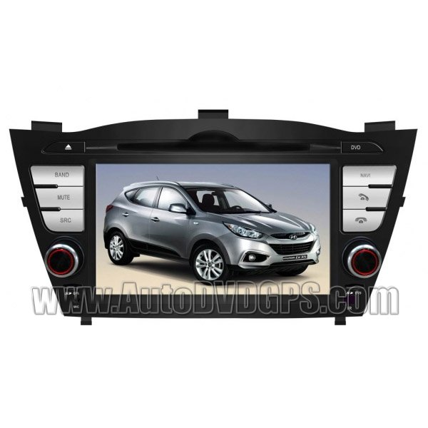 "Hyundai Tucson ix35 GPS Navigation system with DVD Player and 7"" HD Touchscreen and iPod PIP RDS"