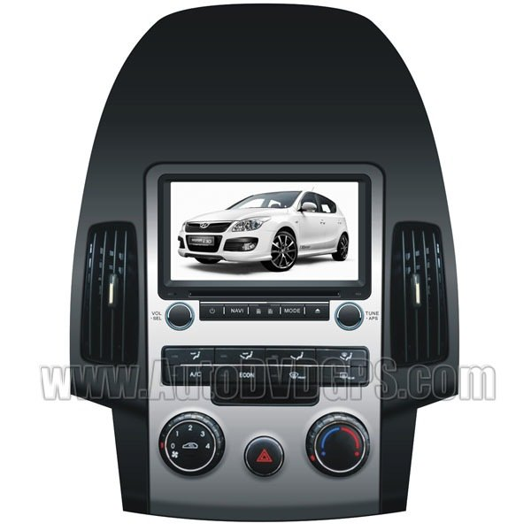 All-in-one Hyundai i30/Elantra Touring DVD GPS player with Digital HD Touchscreen and BT Control
