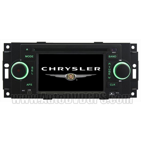JEP801 2002-07JeepCommander/Compass Limited/Grand Cherokee/Patriot DVD Player with in-dash Navi