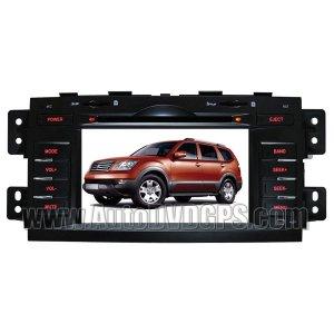 "KIA340 KIA Borrego Mohave DVD Player with GPS navigation and 7"" Digital HD touchscreen + Bluetooth"