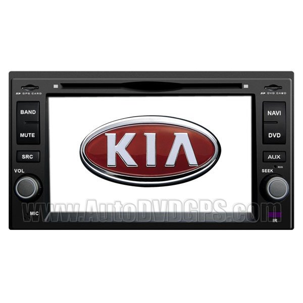 KIA713 KIA Carens DVD-based Navigation System with Digital Touch screen and PIP RDS Bluetooth