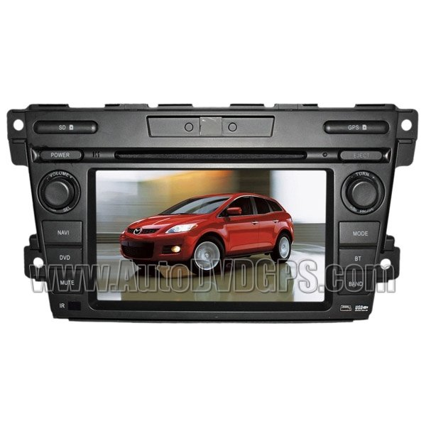 """MZD317 Mazda CX-7 DVD Player with GPS navigation and 7"""" HD touchscreen and Bluetooth iPod CAN-BUS"""