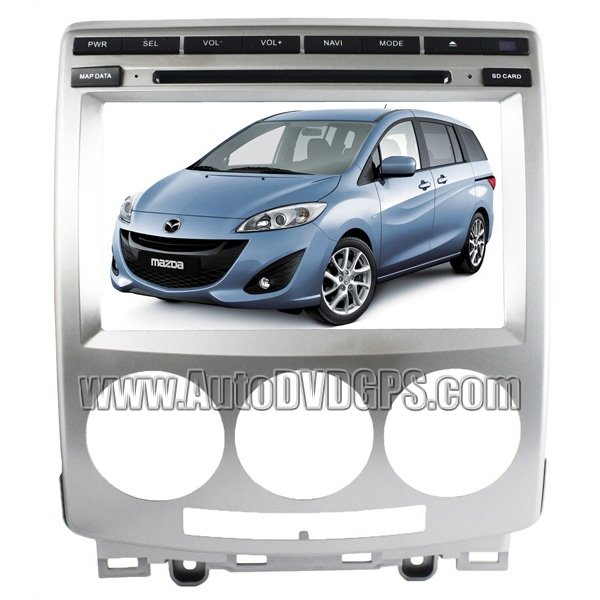 "MZD805 8""Digital HD TouchscreenDVDGPS player with SteeringWheelControl and iPodBT Control forMazda5"