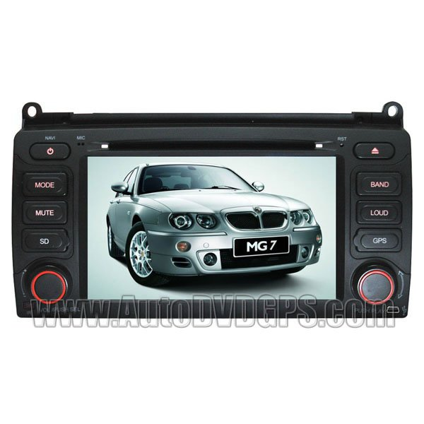 MGM333 Car DVD Player with in-dash GPS navigation and Digital Touchscreen for MG MG7 & Rover 75