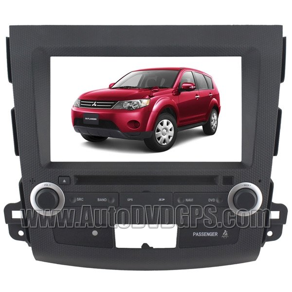 """OTL756D Car DVD Player withGPS navigation and8""""HD touchscreen and Bluetooth for MITSUBISHI OUTLADER"""