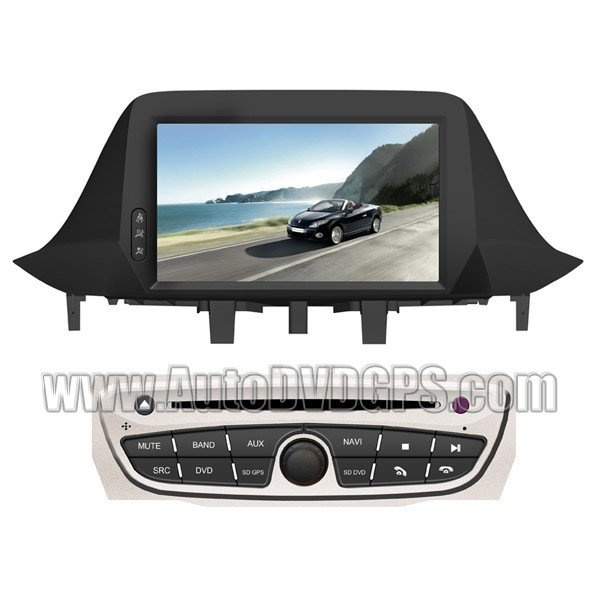 """REN759  2009-2011 Renault Megane III DVD Player with GPS navigation and 7"""" HD touchscreen"""