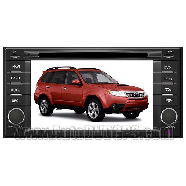 "SBR762 2008-2010 Subaru Forester DVD GPS Navigation System 7"" HD Touchscreen with PIP RDS iPod BT"