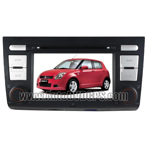 SWF301 Suzuki Swift DVD Player with GPS navigation and digital HD touchscreen and BT iPod USB