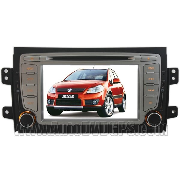"SZK304 7""Digital HD touchscreen Suzuki SX4 DVD Player with GPS navigation and BT Radio"