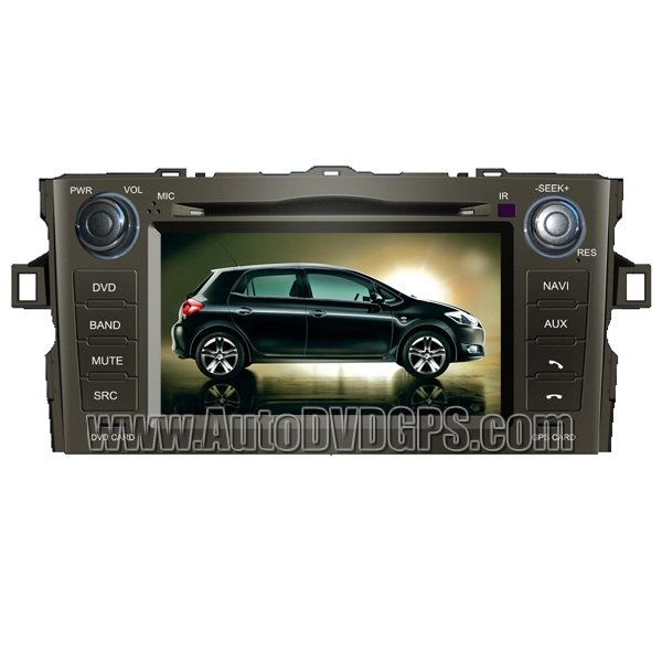 """ARS728 Toyota Auris7""""HD Touchscreen GPS Navigation system with DVD Player iPod PIP RDS Virtual-CDC"""