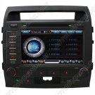 "LDC760  8"" HD Touchscreen DVD GPS Navigation Player with PIP RDS iPod V-CDC for TOYOTA LANDCRUISER"