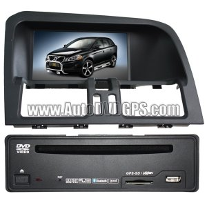 """VOV277I  Volvo XC60 Navigation system+7"""" Digital Touchscreen + CAN-BUS Box Control+ Built In ISDB-T"""