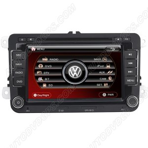 VWG172 Indash DVD GPS Headunit for VWJettaA5 2005-2010-HD Digital Monitor RDS iPod /Two-Way CAN-BUS