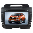 "SPT520 Custron T1080SPT 8"" Car DVD GPS Player For 2010 2011 Kia Sportage + RDS+CDC+ phonebook"