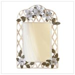 MAGNOLIA LATTICE MIRROR - Item #: 33592