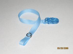 Light Blue Pacifier Pal