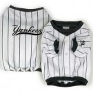 New York Yankees Pinstripe Dog Jersey Shirt Size Large