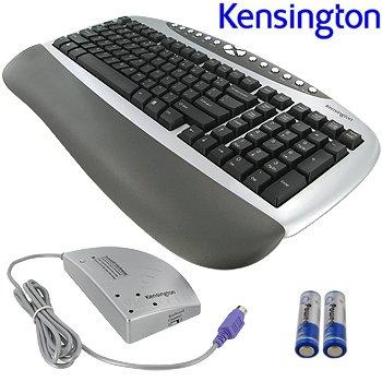 KENSINGTON ® WIRELESS MULTIMEDIA KEYBOARD