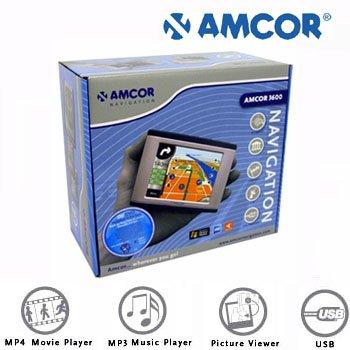 AMCOR® PORTABLE PERSONAL NAVIGATION SYSTEM