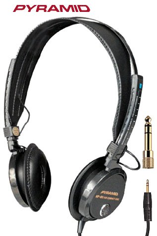 PYRAMID® DIGITAL STEREO HEADPHONES