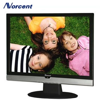 NORCENT® 19 INCH WIDESCREEN LCD TELEVISION & PC MONITOR