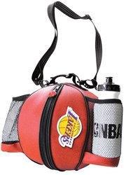 LOS ANGELES LAKERS Pebble Grain Basketball Ballbag w/ rubberized logo, NBA water bottle
