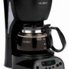 Mr. Coffee 4-Cup Programmable Coffeemaker, Black