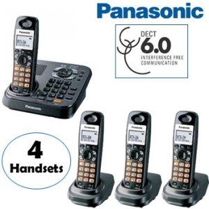 PANASONIC® 6.0 DIGITAL CORDLESS PHONE