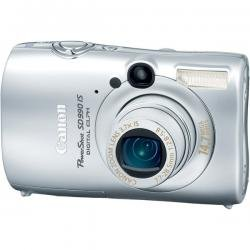"""Silver 14.7MP Digital Camera with 3.7x Optical Zoom and 2.5"""" LCD"""