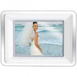 """Coby 10"""" Widescreen Digital Photo Frame With Built-In MP3 Player"""