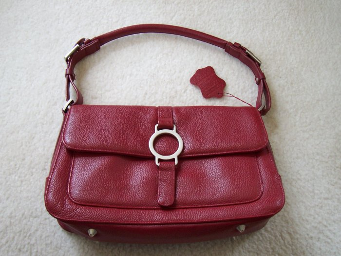 Ladies hand bag Ox blood