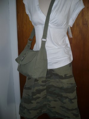 3x 26 Old Navy Camo Skirt and Matching Purse