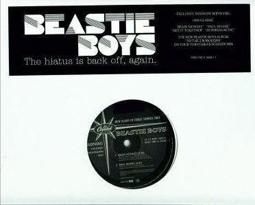 "BEASTIE BOYS 4 SONG PRO 12"" SINGLE 100% CLASSIC HIATUS"