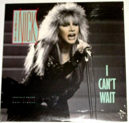 "Stevie Nicks I CAN'T WAIT US 12"" SINGLE - SEALED! MINT!"