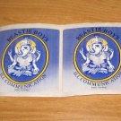 The Beastie Boys Ill Communication Set Of Two (2) Rare Orig Vinyl LP Stickers M