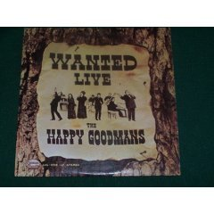 "The Goodmans Wanted Live 12"" vinyl CAS 9705"