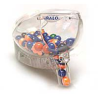 Halo Frontman LED Motorized Loader - Clear Shell