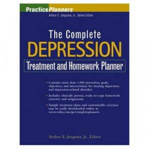 The Complete Depression Treatment and Homework Planner