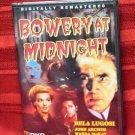 BOWERY AT MIDNIGHT Bela Lugosi JOHN ARCHER Wanda McKay