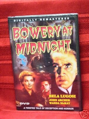 BOWERY AT MIDNIGHT Bela Lugosi JOHN ARCHER Wanda McKay